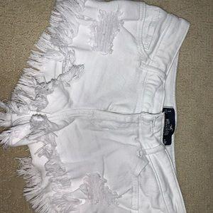 Hollister jean shorts!!